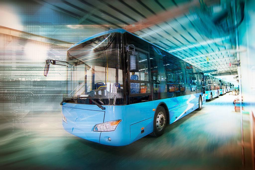 Flotte de bus électrique