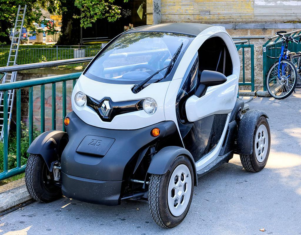 Chargeur embarqué Renault Twizy