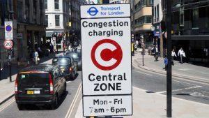 Mobilité et péage urbain Londres