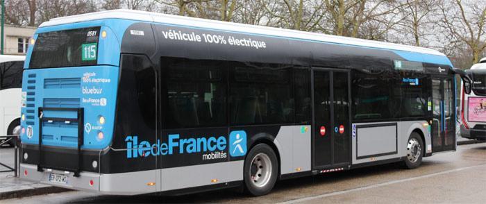 Bus électrique RATP