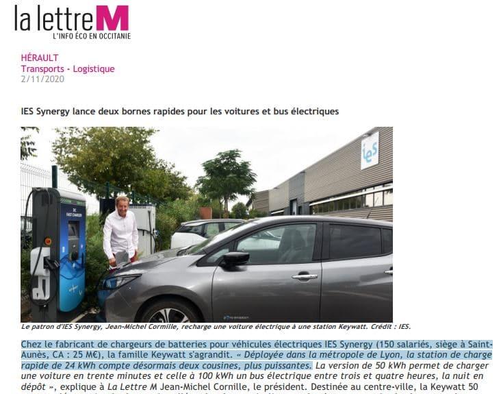 bornes rapides pour voitures électriques