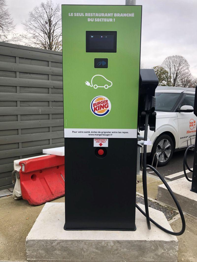 Installation Wallbox Burger King