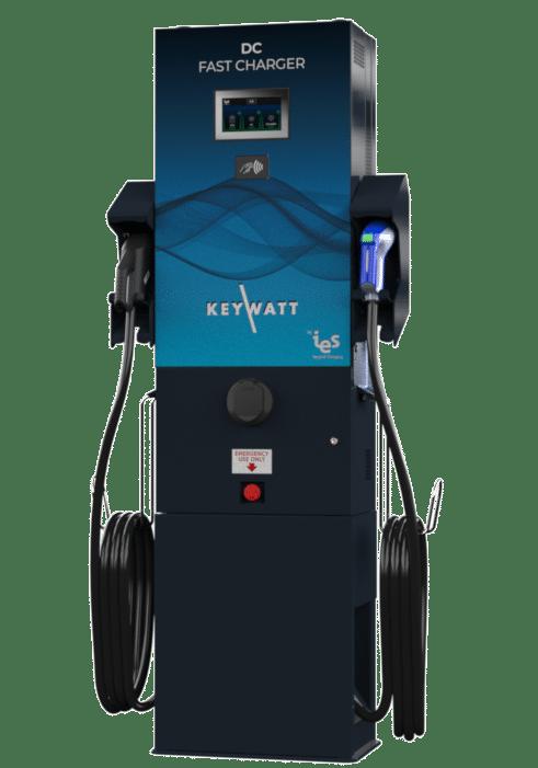 Borne de recharge rapide wallbox 24 kW multi-standard