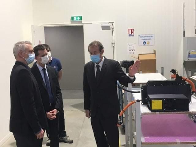 Visite du préfet de l'Hérault - Production chargeurs embarqués