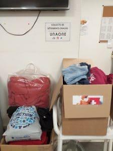 Solidarité - collecte de vêtements Montpellier
