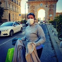 Solidarité - distribution de vêtements Montpellier