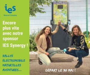 Visuel sponsor Watt'Elles et IES Synergy pour le rallye Natur'Elles Aventures