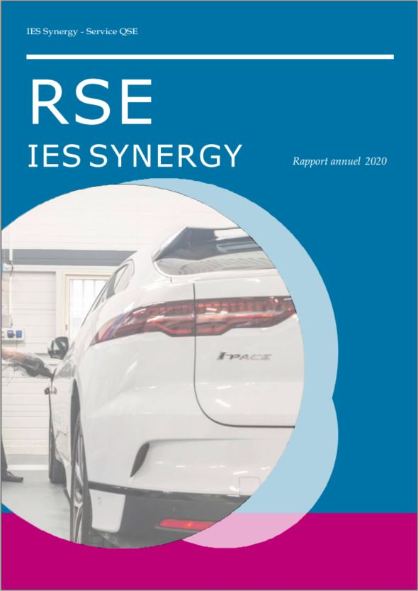 Rapport RSE 2020 - IES Synergy